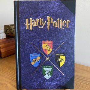 School Crests / Harry Potter Blank Journal Vintage